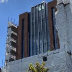 Walkabout News - More Scaffolding Removed