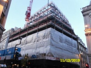 £5m Unitized Facade Package in Central London Update