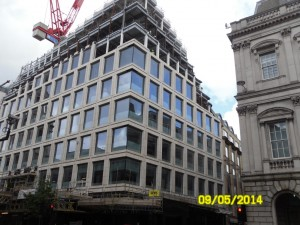 £5m Unitised Facade Package in London nearing completion